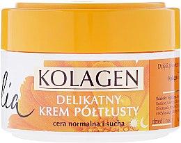 Parfumuri și produse cosmetice Cremă de față - Celia Collagen Soft Semi-Rich Face Cream