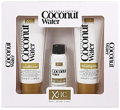 Parfumuri și produse cosmetice Set - Xpel Marketing Ltd Coconut Water Revitalising (shm/100 ml + cond/100 ml + ser/30 ml)