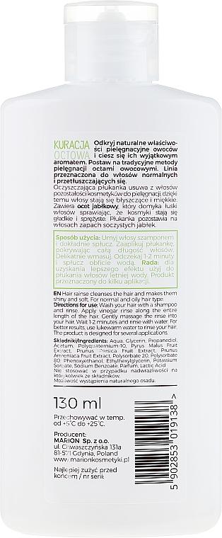 Agent de clătire pentru păr gras - Marion Apple Vinegar Hair Rinse — Imagine N2