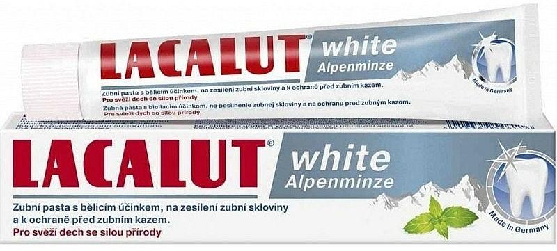 """Pastă de dinți """"Mentă"""" - Lacalut White Alpenminze Toothpaste — Imagine N1"""