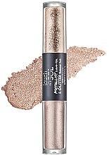 Parfumuri și produse cosmetice Fard de ochi - Touch in Sol Metallist Liquid Foil & Glitter Eye Shadow Duo