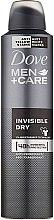 """Parfumuri și produse cosmetice Deodorant pentru bărbați """"Protecție și îngrijire împotriva urmelor albe"""" - Dove"""