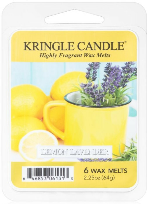 Ceară aromată - Kringle Candle Lemon Lavender — Imagine N1