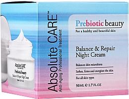 Parfumuri și produse cosmetice Cremă echilibrantă și revitalizantă de noapte - Absolute Care Prebiotic Beauty Balance&Repair Night Cream