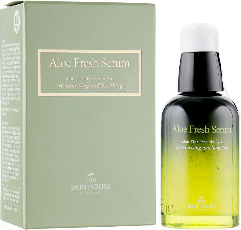 Ser hidratant și calmant cu extract de aloe - The Skin House Aloe Fresh Serum — Imagine N1