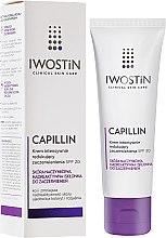 Parfumuri și produse cosmetice Cremă de noapte cu efect de întărire pentru față - Iwostin Capillin Intensive Cream SPF 20