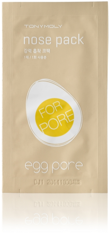 Plasture pentru îndepărtarea punctelor negre de la nas - Tony Moly Egg Pore Nose Pack