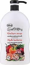 """Parfumuri și produse cosmetice Săpun lichid pentru mâini """"Bucătărie"""" - Bluxcosmetics Naturaphy Hand Soap"""