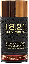 Parfumuri și produse cosmetice Deodorant pentru corp - 18.21 Man Made Sweet Tobacco Deodorant