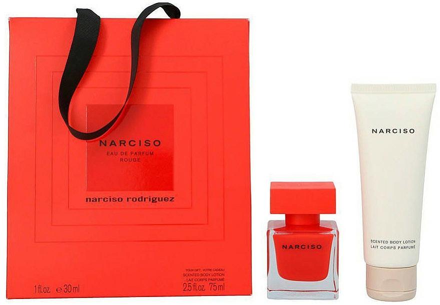 Narciso Rodriguez Narciso Rouge - Set (edp/30ml + b/lot/75ml)