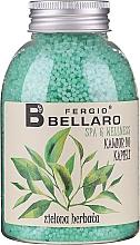 """Parfumuri și produse cosmetice Bile efervescente pentru baie """"Ceai verde"""" - Fergio Bellaro Green Tea Bath Caviar"""