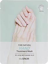 Parfumuri și produse cosmetice Mască pentru mâini - The Saem Pure Natural Hand Treatment Mask