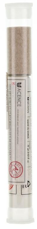 Ser cu acțiune locală pentru acnee cu extract de arbore de ceai - Mizon Acence Tea Tree Tock Blemish Spot — Imagine N1