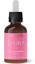 Parfumuri și produse cosmetice Concentrat pentru păstrarea culorii părului - Vitality's Epura Color Saving Blend