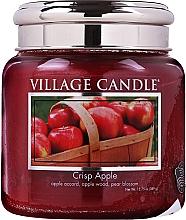 Parfumuri și produse cosmetice Lumânare aromată în borcan - Village Candle Crisp Apple