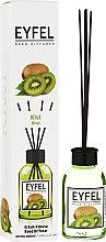 """Parfumuri și produse cosmetice Difuzor Aromatic """"Kiwi"""" - Eyfel Perfume Reed Diffuser Kiwi"""