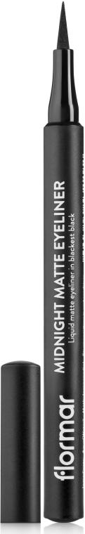 Tuș de ochi - Flormar Midnight Matte Eyeliner