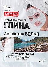 """Parfumuri și produse cosmetice Argilă albă hidratantă pentru față și corp """"Altai"""" - FitoKosmetik"""