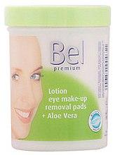Parfumuri și produse cosmetice Discuri demachiante cu aloe vera - Bel Premium Lotion Eye Make-Up Pads Aloe Vera