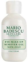 Parfumuri și produse cosmetice Gel demachiant pentru ochi - Mario Badescu Eye Make-up Remover Gel