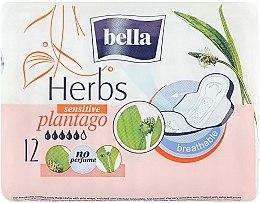 Parfumuri și produse cosmetice Absorbante Panty Herbs Plantago, 12 bucăți - Bella
