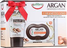 Parfumuri și produse cosmetice Set - Equilibra Argan (cr/75ml + f/wipes/25pcs)