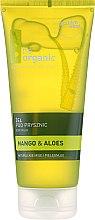 "Parfumuri și produse cosmetice Gel de duș ""Mango și Aloe"" - Be Organic Body Wash Mango & Aloes"
