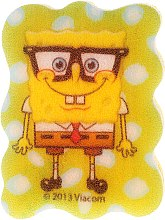"Burete de baie ""SpongeBob"", SpongeBob cu ochelari - Suavipiel Sponge Bob Bath Sponge — Imagine N1"