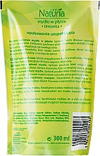 "Săpun lichid ""Lime"" - Joanna Naturia Body Lime Liquid Soap (Refill) — Imagine N2"