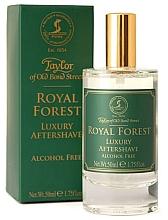Parfumuri și produse cosmetice Taylor of Old Bond Street Royal Forest Aftershave Lotion - Loțiune după ras