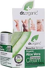 Cremă concentrată cu extract de Aloe Vera - Dr.Organic Bioactive Skincare Aloe Vera Concentrated Cream — Imagine N1