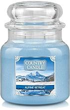Parfumuri și produse cosmetice Lumânare aromatică, în borcan - Country Candle Alpine Retreat