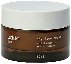 Parfumuri și produse cosmetice Cremă nutritivă cu ulei de tsubaki și extract de spirulină de zi - Uddo Day Face Cream With Tsubaki Oil And Spirulina