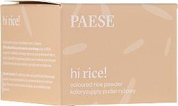 Parfumuri și produse cosmetice Pudră de orez pentru față - Paese Hi Rice Coloured Rice Powder