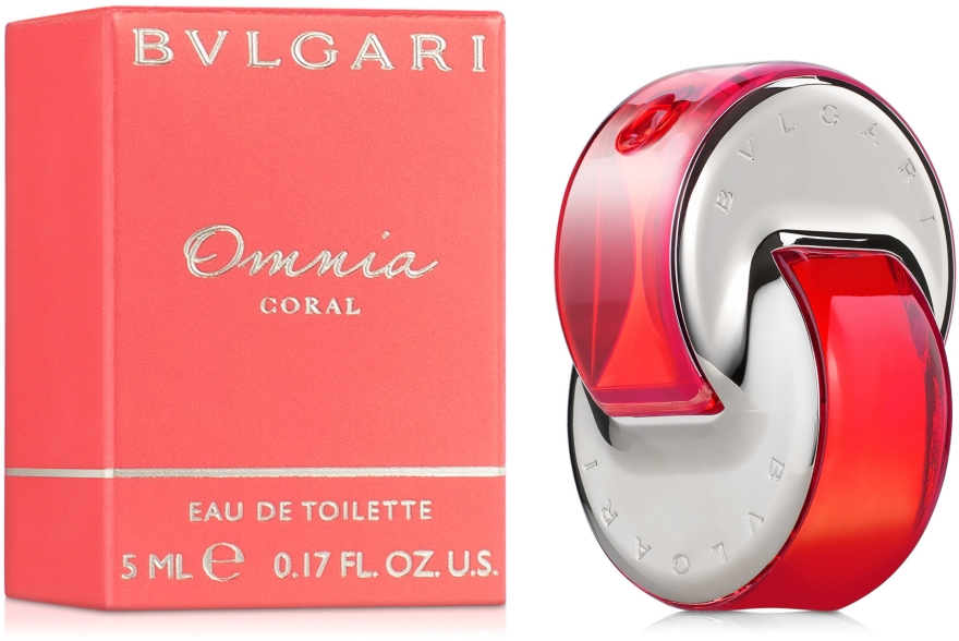 Bvlgari Omnia Coral - Apă de toaletă (mini) — Imagine N1