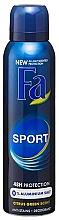 Set - Fa Men Sport (sh/gel/250ml + deo/150ml+water/100ml) — Imagine N2