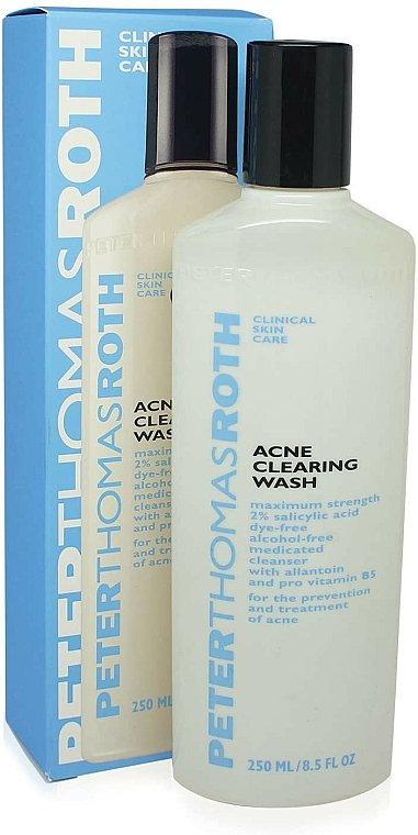 Gel anti-acnee de curățare pentru față - Peter Thomas Roth Acne-Clear Wash — Imagine N1