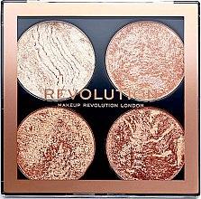 Parfumuri și produse cosmetice Paletă de machiaj - Makeup Revolution Cheek Kit
